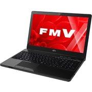 FMVA47WBC [LIFEBOOK AH47/W 15.6型ワイド/Core i7/メモリ8GB/SSD256GB/DVDスーパーマルチドライブ/Windows 10 Home 64ビット/Microsoft Office Home and Business Premium プラス Office 365 サービス/シャイニーブラック]