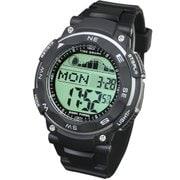 LAD019bk [TIDEGRAPH MASTER デジタル 腕時計]