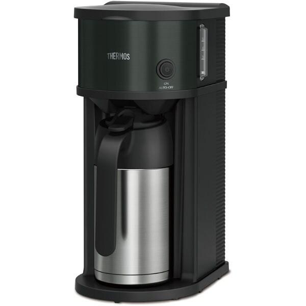 ECF701-BK [真空断熱ポットコーヒーメーカー 0.63L ブラック]