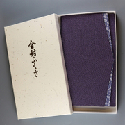 金封 ふくさ 桜小紋 紫 [慶弔事用ふくさ]