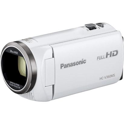 HC-V360MS-W [デジタルハイビジョンカメラ 16GB ホワイト]
