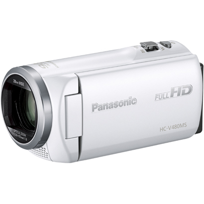 HC-V480MS-W [デジタルハイビジョンカメラ 32GB ホワイト]