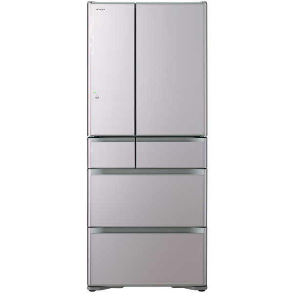 R-XG6200G XN [冷蔵庫 XGシリーズ 真空チルド (615L・フレンチドア) 6ドア クリスタルシャンパン]