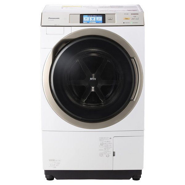 NA-VX9700R-W [ななめドラム式洗濯乾燥機11kg 右開き ナノイー クリスタルホワイト]