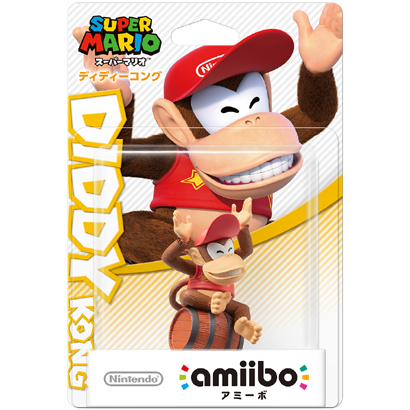 amiibo ディディーコング(スーパーマリオシリーズ) [Wii U/New3DS/New3DSLL ゲーム連動キャラクターフィギュア]