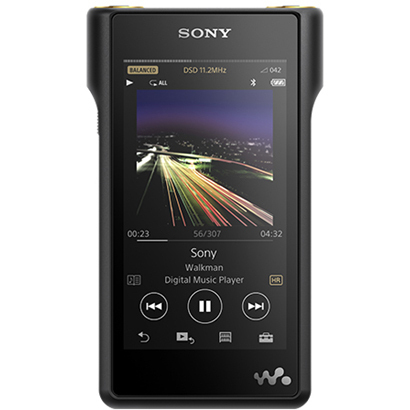 NW-WM1A B [メモリーオーディオ WALKMAN(ウォークマン) Signature Series WM1シリーズ 128GB ブラック ハイレゾ音源対応]