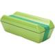 三好製作所 GEL-COOL 保冷剤一体型ランチボックス fitシリーズ PECO(凹) グリーン