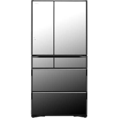 R-WX7400G X [冷蔵庫 WXシリーズ 真空チルド (735L・フレンチドア) 6ドア クリスタルミラー]