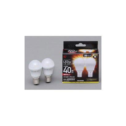 LDA5L-H-E17-4T32P [LED電球 E17口金 電球色 440lm(40W形相当) 密閉器具対応 2個セット]
