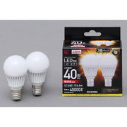 LDA5L-G-E17-4T32P [LED電球 E17口金 電球色 440lm(40W形相当) 広配光 密閉器具対応 2個セット]