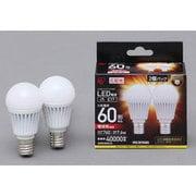 LDA8L-G-E17-6T32P [LED電球 E17口金 電球色 760lm(60W形相当) 広配光 密閉器具対応 2個セット]