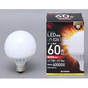 LDG7L-G-6V3 [LEDボール球 E26口金 電球色 700lm(60W形相当) 密閉器具対応]