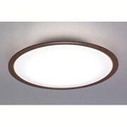 CL8DL-5.0WF-M [LEDシーリングライト 8畳用 調光10段階 調色11段階 木調フレーム ウォールナット リモコン付]