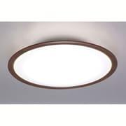 CL14DL-5.0WF-M [LEDシーリングライト 14畳用 調光10段階 調色11段階 木調フレーム ウォールナット リモコン付]