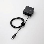 MPA-ACCCC104BK [スマートフォン・タブレット用AC充電器 USB Type-C ケーブル一体型 2A出力 1.0m ブラック]