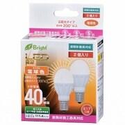 LDA4L-G-E17IH212P [LED電球 ミニクリタイプ 40形相当 E17口金 電球色 2個入]