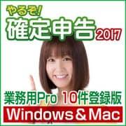 やるぞ!確定申告2017 業務用Pro 10件登録版 for Hybrid [Windows/Mac]