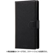 RT-RXPXCELC1/BB [Xperia X Compact 手帳型ケース シンプル マグネット ブラック]