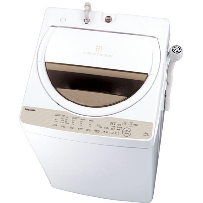 AW-6G5(W) [全自動洗濯機 6kg 風乾燥機能付(1.3kg) ホワイト系]
