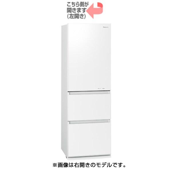 NR-C37FGML-W [ノンフロン冷凍冷蔵庫 (365L・左開き) 3ドア エコナビ搭載 スノーホワイト]