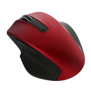 MUS-BKF131R [BlueLED Bluetoothマウス Z 5ボタン Mサイズ レッド]