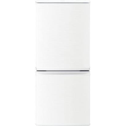 SJ-D14C-W [小型 冷蔵庫 137L つけかえどっちもドア ホワイト]