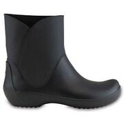 RainFloe Bootie Blk W8 [レインフロー ブーティ レディース 24cm ブラック]