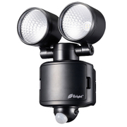 LS-B285B-K [LEDセンサーライト 乾電池式 4WX2灯 単2×3本]