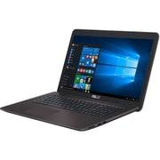 X756UV-T7500 [VivoBook 17.3型ワイド/Core i7-7500U/メモリ 8GB/HDD 1TB/NVIDIA 920MX/VRAM 2G/DVDスーパーマルチドライブ/Windows 10 Home 64ビット/ダークブラウン]
