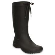 Freesail Rain Boot Espresso W8 [クロックス フリーセイル レイン ブーツ レディース 24cm エスプレッソ]