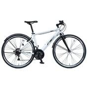 700Cクロスバイク 外装18段変速 17 CRB700STD VAIL ホワイト 3423