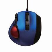 MUS-TULF133BL [レーザー式 小型静音オートスピード トラックボールマウス 5ボタン ブルー]