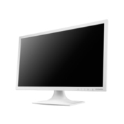 LCD-MF211ESW [5年保証 20.7型 ワイド液晶ディスプレイ スピーカー搭載モデル ホワイト]