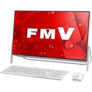 FMVF55B1WC [ESPRIMO FH55/B1 23.8型/Core i3-7100U/メモリ 8GB/HDD 1TB/DVDスーパーマルチ/Windows 10 Home 64 ビット/Office Home & Business プラス 365 サービス/スノーホワイト]