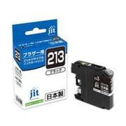 JIT-B213B [ブラザー LC213BK互換 リサイクルインクカートリッジ ブラック ブラック]
