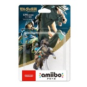 amiibo リンク 騎乗ブレス オブ ザ ワイルド ゼルダの伝説シリーズ [Wii U/New3DS/New3DSLL ゲーム連動キャラクターフィギュア]
