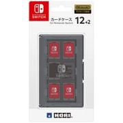 NSW-021 [カードケース12+2 ブラック for Nintendo SWITCH]