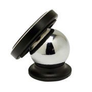 OWL-CHSPMG01-BK [マグネット式車載ホルダー スマートフォン対応 360度回転 強力ネオジウム磁石 ブラック]