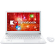 PT55CWP-BJA2 [dynabook T55 15.6型/Core i3-7100U/メモリ 4GB/HDD 1TB/ブルーレイディスクドライブ/Windows 10 Home 64ビット/Office Home & Business Premium プラス Office 365 サービス/リュクスホワイト]