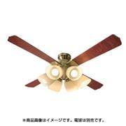 QJ-46AB6RCND [シーリングファン リモコン式 6灯 電球別売 ブロンズ]