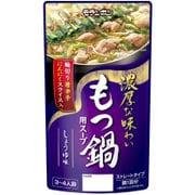 もつ鍋用スープ しょうゆ味 750g
