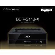 BDR-S11J-X [Ultra HD Blu-ray再生対応 BD-R16倍速書込み ハニカム筐体 オーディオCD再生品質チェック機能搭載 RoHS指令対応 BD/DVD/CDライター]
