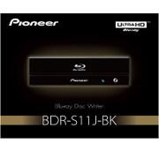 BDR-S11J-BK [Ultra HD Blu-ray再生対応 BD-R16倍速書込み ハニカム筐体 RoHS指令対応 BD/DVD/CDライター]