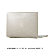 86400-5636 [Macbook Pro Retina 13 Smartshell - Clear With Gold Glitter]