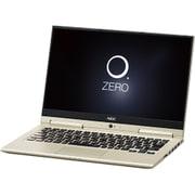 PC-HZ750GAG [LAVIE Hybrid ZERO HZ750/GAシリーズ/13.3型ワイド/Core i7-7500U(2.7GHz)/SSD 256GB/メモリ8GB/Windows 10 Home 64ビット/office H&B Premium プラス Office 365 サービス/プレシャスゴールド]