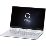 PC-HZ750GAS [LAVIE Hybrid ZERO HZ750/GAシリーズ/13.3型ワイド/Core i7-7500U(2.7GHz)/SSD 256GB/メモリ8GB/Windows 10 Home 64ビット/office H&B Premium プラス Office 365 サービス/ムーンシルバー]