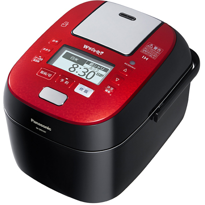 SR-SPX107-RK [スチーム&可変圧力IHジャー炊飯器 5.5合炊き Wおどり炊き 220℃IHスチーム エコナビ搭載 ルージュブラック]
