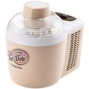 JL-ICM720A C [アイスクリームメーカー フリージング・クッカー IceDeli Plus(アイスデリ プラス) ベージュ]