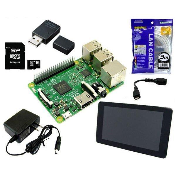RASPi3-ADV [Raspberry Pi 3 スターターセット/アドバンス]