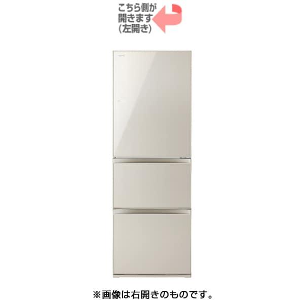 GR-K36SXVL(EC) [VEGETA(ベジータ) 冷凍冷蔵庫 (363L・左開き) 3ドア サテンゴールド]
